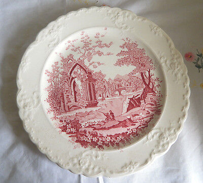 TAYLOR SMITH-TAYLOR ENGLISH ABBEY DINNER PLATE