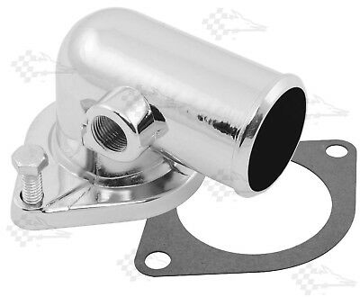 Chrome Water Neck / Thermostat Housing - Ford 390 427 428