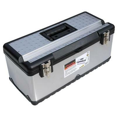 Tool Box Case Stainless Diy Home Car Large Tools Carry