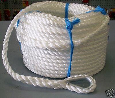 12mm x 50Mtr Silver Anchor Rope