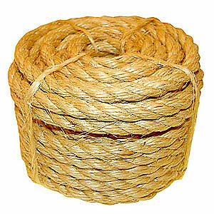 40mm Sisal Rope (Natural Fibre) - Buy It By The Metre