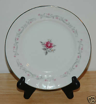 FINE CHINA OF JAPAN BREAD & BUTTER PLATE ROYAL SWIRL