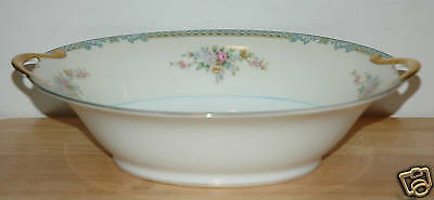Noritake Fine China Oval Vegetable Bowl Avon Pattern