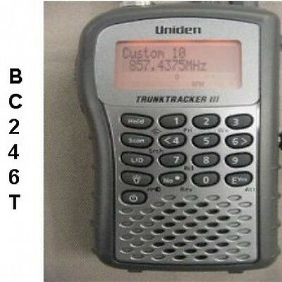 Uniden Bearcat Bc 246T Scanner Owners Manual On Cd