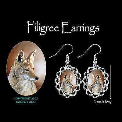 COYOTE - SILVER FILIGREE EARRINGS Jewelry