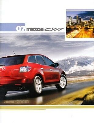 2007 07 Mazda CX7 CX-7 original sales brochure