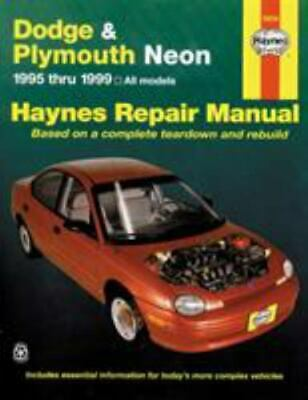 1995-1999 Haynes Dodge & Plymouth Neon Repair Manual