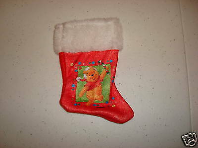 Christmas Stocking Disney Winnie Pooh Mini NEW Holiday