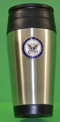 Navy Stainless Steel Insulated Tumbler Cup 16 ounce