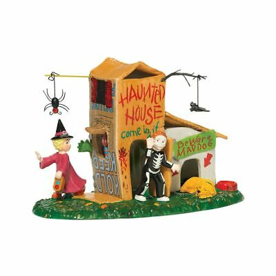 """Department 56 ~  Snow Village Halloween  """"Come In If You Dare""""~ Retired"""