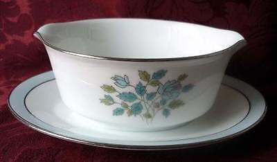 1966 Noritake China Harvard Rose GRAVY BOAT, Japan