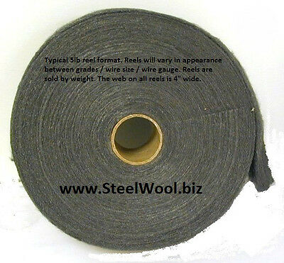 5lb Steel Wool Reel #0000 - Super Fine