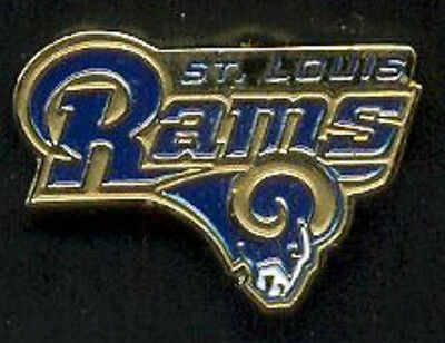 NFL  ST.LOUIS RAMS  OFFICIAL LOGO PIN