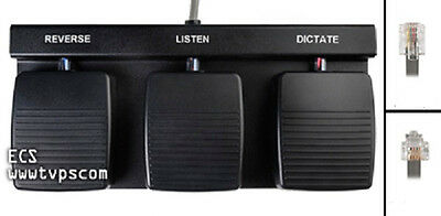 DAC FP-11 Foot Pedal for use with HF-89 Handsfree Module