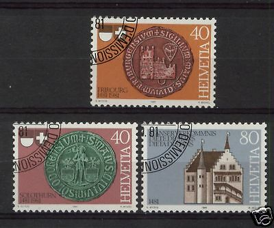 Switzerland 1981 SG#1014-6 Covent Of Stans Cto Used Set