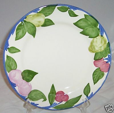 FRANCISCAN ORCHARD GLADE SALAD PLATE PLATES NEW FRUIT
