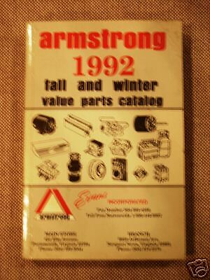 Armstrong Value Parts Catalog 1992 - Evans Incorporated
