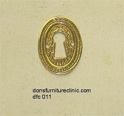 Drawer Door Cast Brass Key Hole Cover Dfc 011