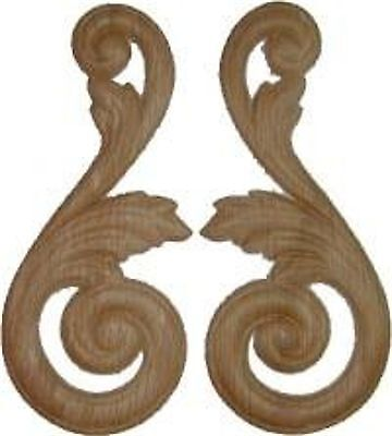 Furniture Repair Parts  Oak Wood Carvings   W35715