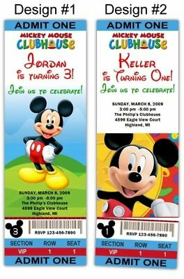 Mickey Mouse Clubhouse 10ct Birthday Party Invitations
