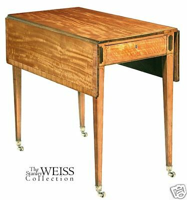 SWC-Hepplewhite Satinwood Pembroke Table c.1800