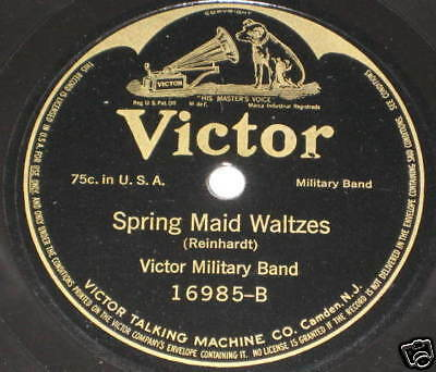 78rpm/Victor/16985/VICTOR MILITARY BAND/SPRING MAID WAL