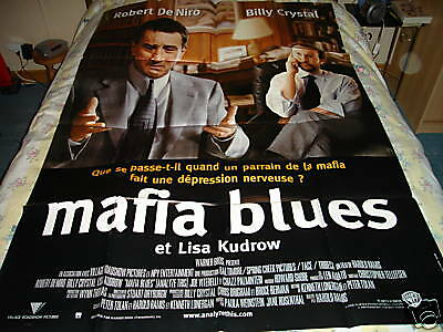 Affiche  De Niro / Billy Crystal / Mafia Blues