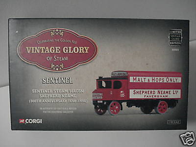 CORGI SENTINEL STEAM WAGON LIMITED EDITION 1:50 MIB