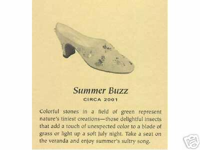 Just The Right Shoe, SUMMER BUZZ