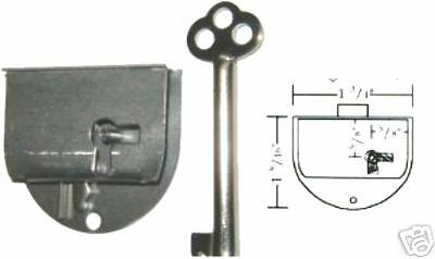 Repair Parts Round Half Mortise Lock & Key S1827