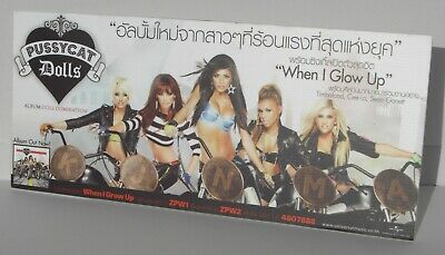 "Pussycat Dolls ""doll Domination"" Thailand Promo Display"