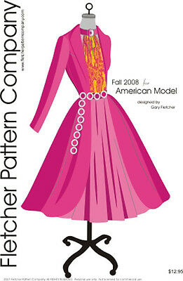 Fall 2008 Doll Clothes Sewing Pattern for American Model  Tonner