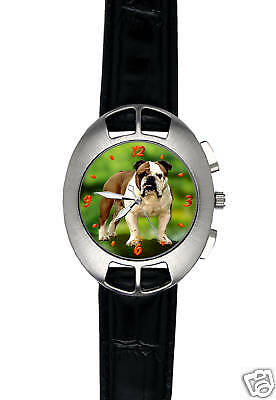 Montre  Chien  BULLDOG ANGLAIS - Watch  ENGLISH BULLDOG