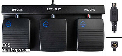 DAC FP-4000-W Wateproof Foot Pedal for Handsfree