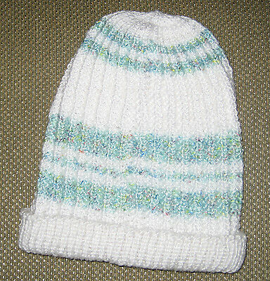 NEW Soft Cuddly Hand Knit Baby Cap