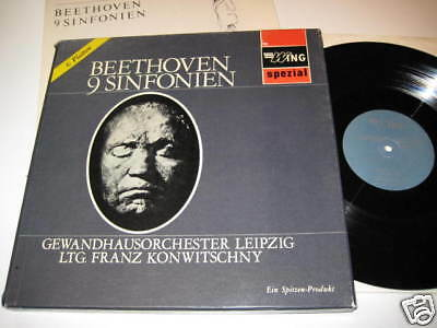 6 Lp Box/beethoven/9 Sinfonien/megarare Wing Box