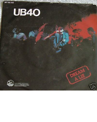 "7"" 1980 RARE GOLD ! UB 40 --> The Earth Dies Screaming"