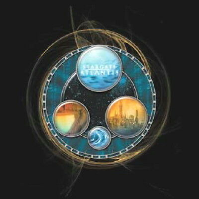 Stargate Atlantis Gate Views & Logo T-Shirt, NEW