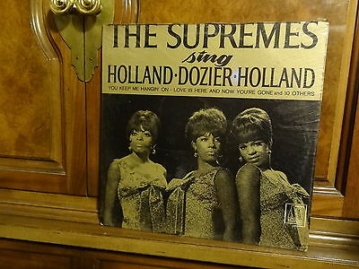 The Supremes     Sing   Holland-Dozier-Holland   Orig Mono #650  1966   Sealed