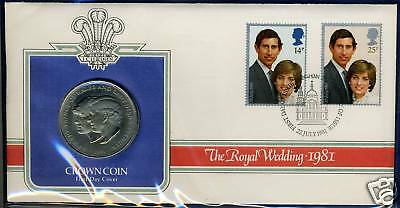 Great Britain Royal Wedding Crown Combo Fdc