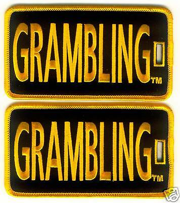 GRAMBLING STATE UNIVERSITY Luggage ID Tags (Set of 2)