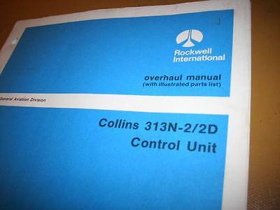 Collins 313N-2 and 313N-2D Service Manual