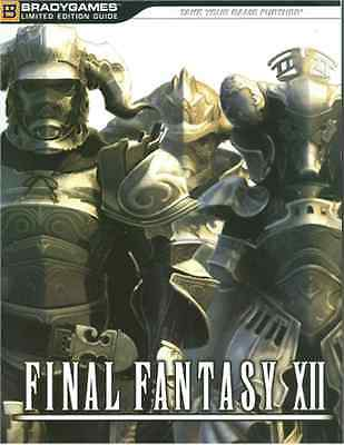 Final Fantasy 12 XII Limited Edition Strategy Guide 352p Brady Games