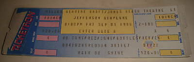 JEFFERSON AIRPLANE- Jones Beach 9-1-89 UNUSED TICKET