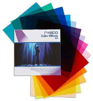 "Rosco Color Effects Lighting Gel Pack  20""x24"" 15 Shts"