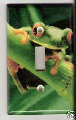 Red Eye Tree Frog Light Switch Plate Cover Frogs