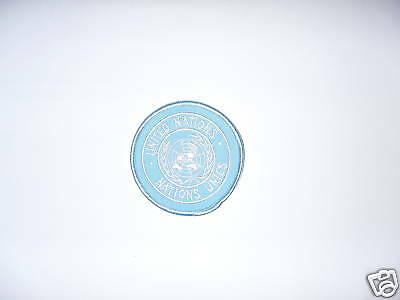 Ecusson brodé Nations Unies UNITED NATIONS collector militaire original