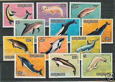 Balene - Whales Cook Islands 1984