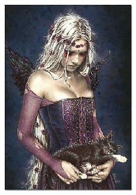 Victoria Frances Angel Muerte Air Freshener Goth Cat Vampire Goth Girl Ghost New