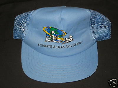 1989 National Jambo Exhibits & Displays Staff hat   j21